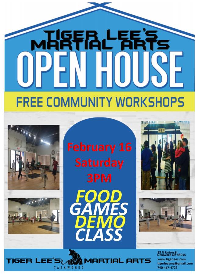 Tiger Lee's Martial Arts Open House